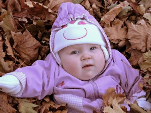 Throwback Thursday – Molly in the Leaves
