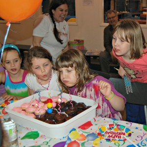 Twins' 8th Birthday Party