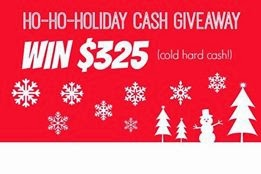 Christmas Cash Giveaway – Win $325!!!