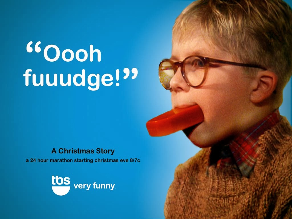 Quotes From A Christmas Story: I Can't Put My Arms Down!