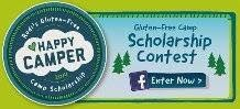 Camp Scholarship for Kids with Celiac and Camping Equipment Giveaway