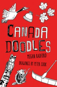 Canada Doodles Book from Raincoast Books by Megan Radford - review and free printables