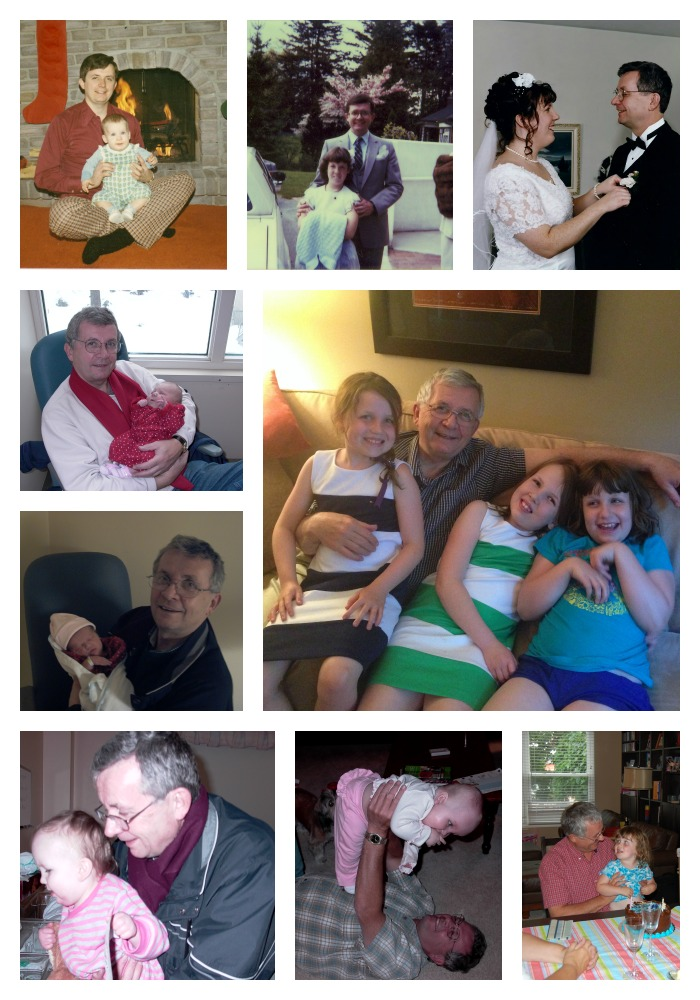 dad fathers day collage 2014