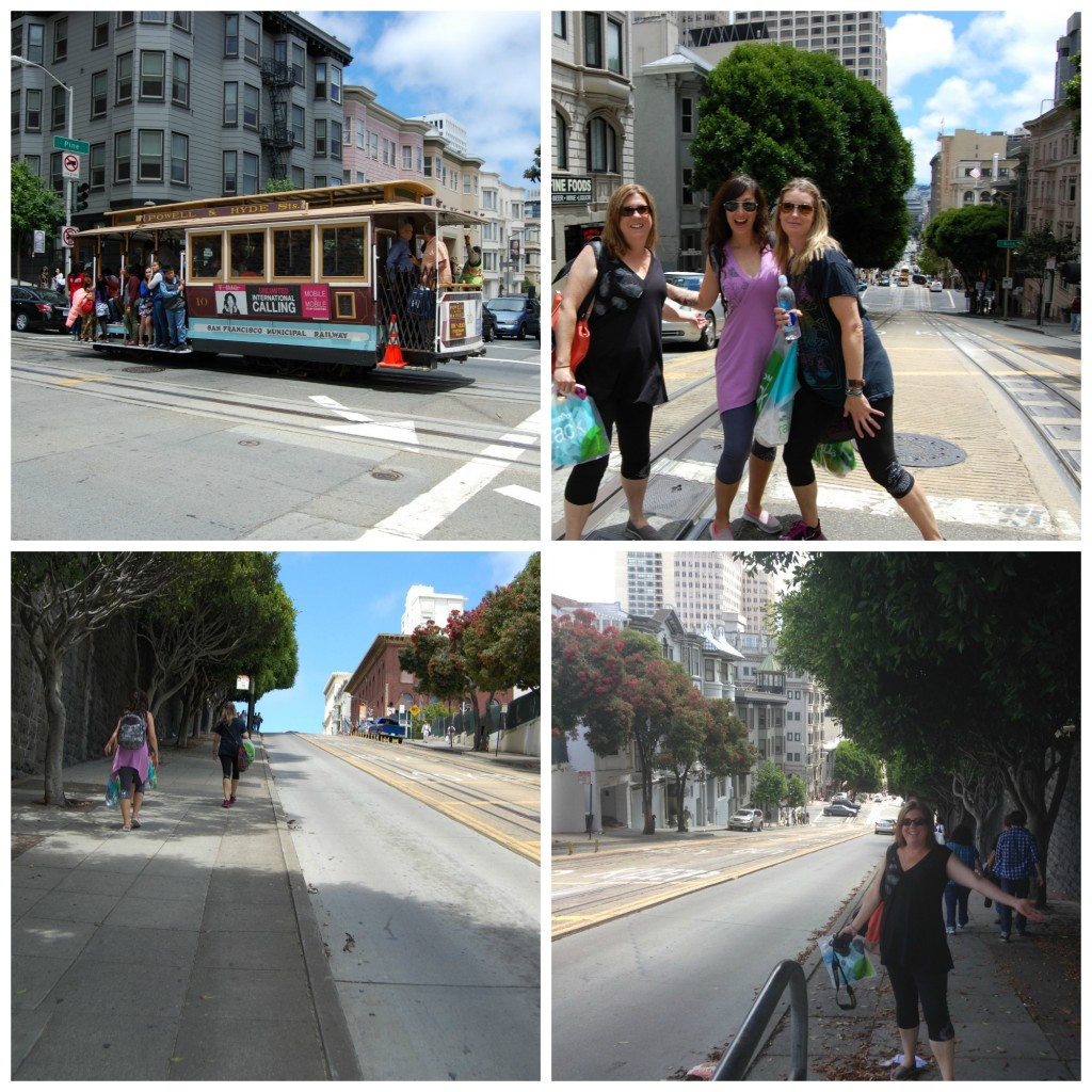 #manadalamoms climbing the steep hills of San Francisco