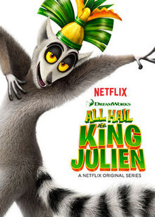 All_Hail_King_Julien_poster