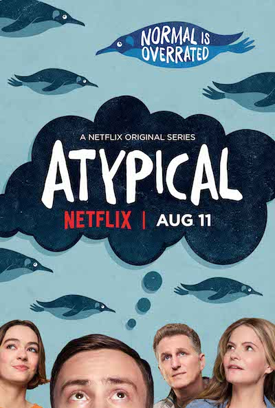 Atypical, Netflix's newest original series, hits the sweet spot of accuracy about autism and entertainment.