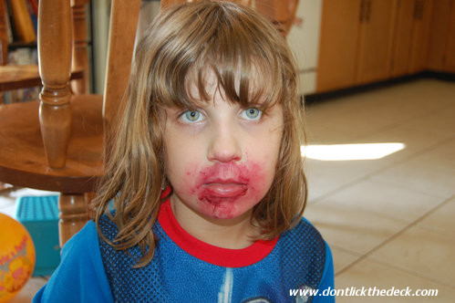 """""""No, I haven't seen your lipstick..."""""""
