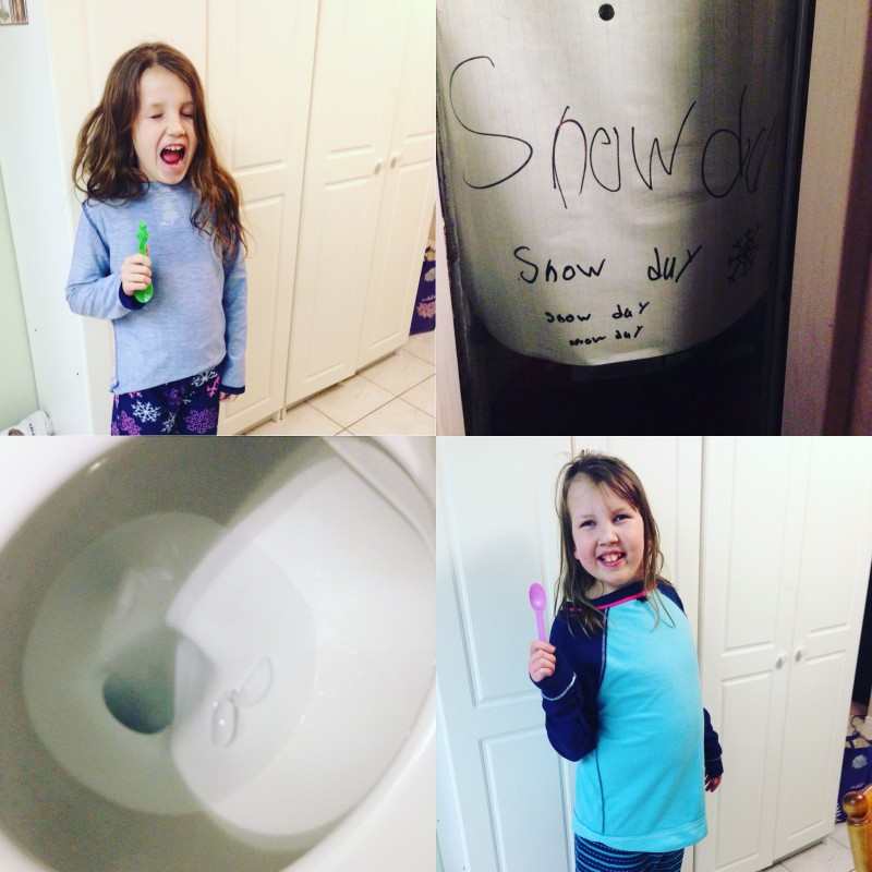What my kids will do for a snow day