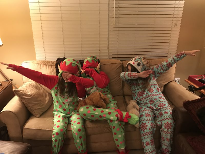We're ringing in the new year with Netflix and jammies!